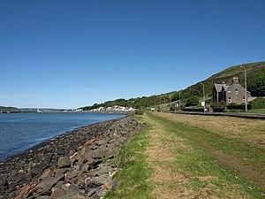 Cairnryan - Image: Shore, Cairnryan geograph.org.uk 1298522