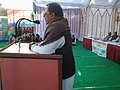 Shri Ajay Singh, Leader of Opposition, addressing at the Public Information Campaign on Bharat Nirman, organised by the PIB, Bhopal, at Sidhi in Madhya Pradesh on January 07, 2013.jpg