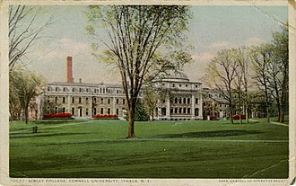 Hiram Sibley - Cornell's Sibley College ca 1915.