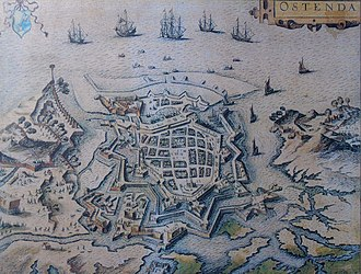 Siege of Ostend - Siege of Ostend by an anonymous artist