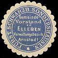 Siegelmarke Gemeinde Vorstand zu Elleben - Verwaltungsbezirk Arnstadt W0260105.jpg