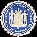Siegelmarke Königlich Preussische Provinzial - Schulkollegium zu Coblenz W0216331.jpg