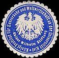 Siegelmarke K. Institut für Seeverkehr und Weltwirtschaft an der Universität Kiel W0296839.jpg