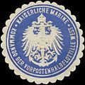 Siegelmarke K. Marine Kommando der Vorpostenhalbflottille West W0379187.jpg