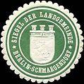 Siegelmarke Siegel der Landgemeinde Berlin-Schmargendorf W0314482.jpg