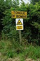 Sign for the delightfully named tongue of Bombie - geograph.org.uk - 210624.jpg