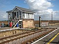 Signal box at Shippea Hill railway station - geograph.org.uk - 1519341.jpg