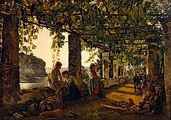 Sylvester Shchedrin: Terrace on the Seashore