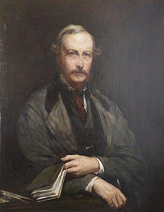 Sir John Walrond, 1st Baronet - Portrait of Sir John Walrond by George Frederic Watts