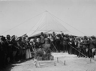 Establishment of the Emirate of Transjordan