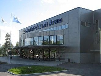 Skellefteå Kraft Arena - Image: Skellefteå Kraft Arena 080718