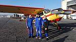 Skoki sylwestrowe Sekcji Spadochronowej Aeroklubu Gliwickiego 2016 (01).jpg