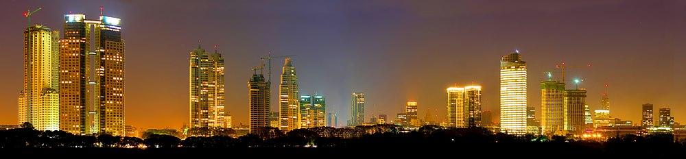 Vista nocturna de Buenos Aires, la ciudad más visitada de Sudamérica