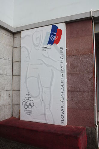 Slovakia at the 2008 Summer Olympics - Slovak representative house in Beijing