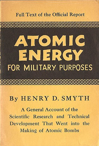 Smyth Report - Cover of 1945 Princeton edition