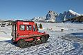 Snow vehicle Snow Trac on Alpe di Siusi Seiseralm.jpg