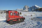 Snow vehicle Snow Trac on Alpe di Siusi Seiseralm.jpg