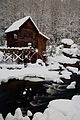 Snowy-Gristmill-Winter-Christmas-Postcard-pub - West Virginia - ForestWander.jpg