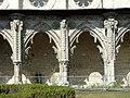 Soissons (02), abbaye Saint-Jean-des-Vignes, cloître gothique, galerie ouest 1.jpg