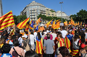Separatism - Support for Catalan independence is based on the thesis that Catalonia is a nation
