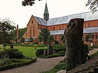 Sorø Klosterkirke - Sorø Klosterkirke and grounds.
