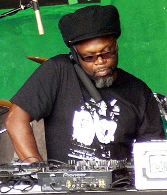 Jazzie B - Jazzie B with Soul II Soul at the Lambeth Country Show 2010 in Brockwell Park