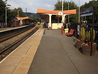 Sowerby Bridge railway station - Image: Sowerby Bridge stn 2018