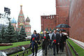 Soyuz TMA-10M crew at the Kremlin Wall.jpg