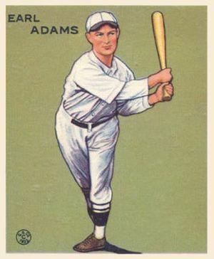 Sparky Adams - Image: Sparky Adams Goudeycard