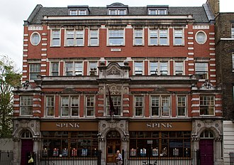 Spink & Son - Spink offices in Southampton Row.