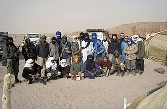 Spinophorosaurus - The PALDES team in Niger, 2007
