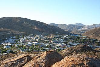 "Springbok, Northern Cape - A view of Springbok from ""Klipkoppie"""