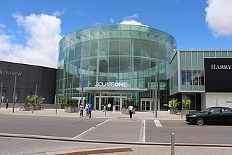 Square One Shopping Centre - Square One Shopping Centre, Mississauga. Main entrance.
