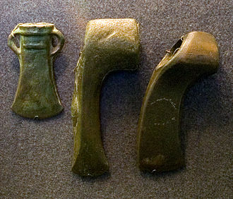 History of human settlement in the Ural Mountains - Srubna culture weapons