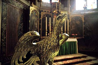 St John the Divine, Kennington - Image: St john divine lectern