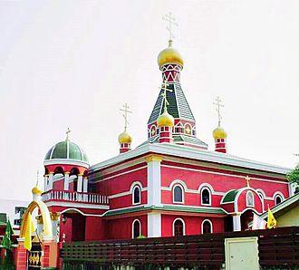 Eastern Orthodox Church in Thailand - St.Nicholas Cathedral in Bangkok