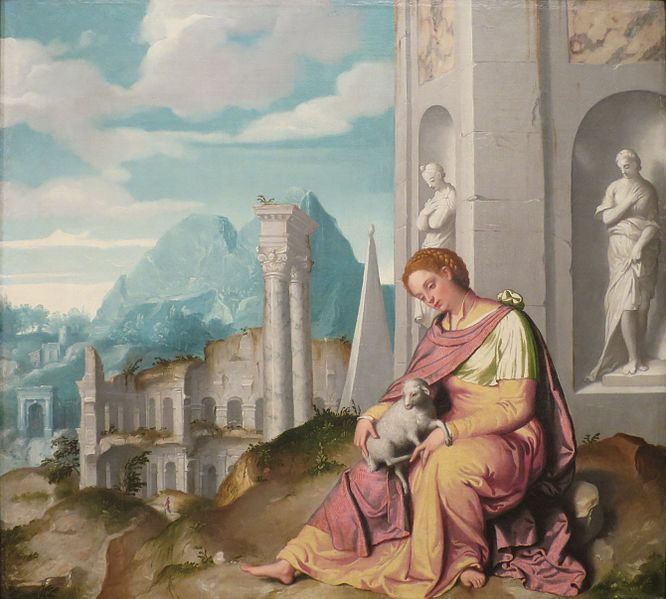 File:St. Agnes by Giovanni Battista Moroni, Columbus Museum of Art.JPG