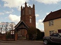 St. Margaret of Antioch church, Toppesfield, Essex - geograph.org.uk - 153177.jpg