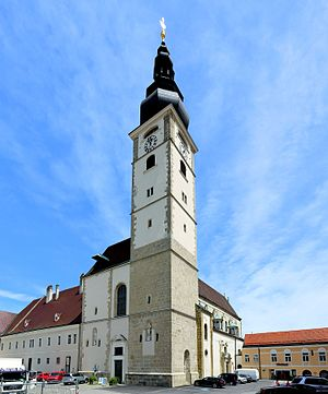 Roman Catholic Diocese of Sankt Pölten - Sankt Pölten Cathedral Dom Mariä Himmelfahrt