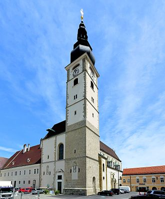 Sankt Pölten - The baroque cathedral