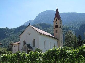 Andrian, South Tyrol - Church of Saint Valentine
