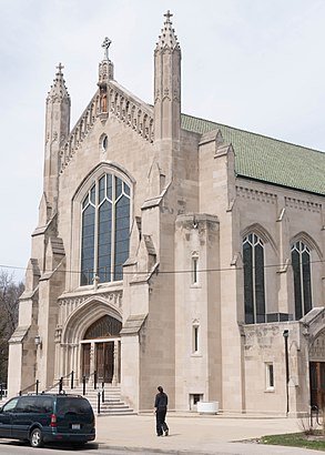 How to get to St. Viator Parish with public transit - About the place