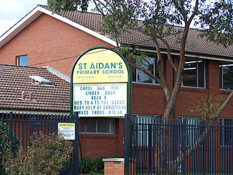 Rooty Hill, New South Wales - St. Aidan's Primary School