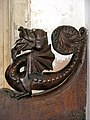 St Agnes' church - carved bench elbow - geograph.org.uk - 871554.jpg