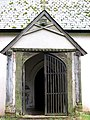 St Andrew's church - C16 wood-framed porch - geograph.org.uk - 1708455.jpg