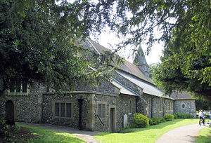 English: St Andrew, Dover Buckland, Kent