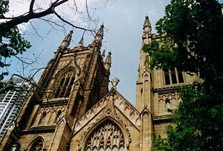 St Andrews Cathedral, Sydney Church in New South Wales, Australia