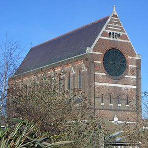 St Bartholomew's Church, Brighton - The church from the south-southwest
