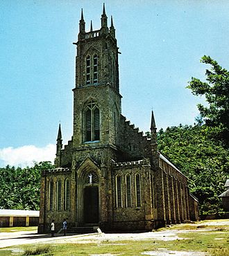 Religion in Seychelles - The parish church of St. Francis at Baie Lazare