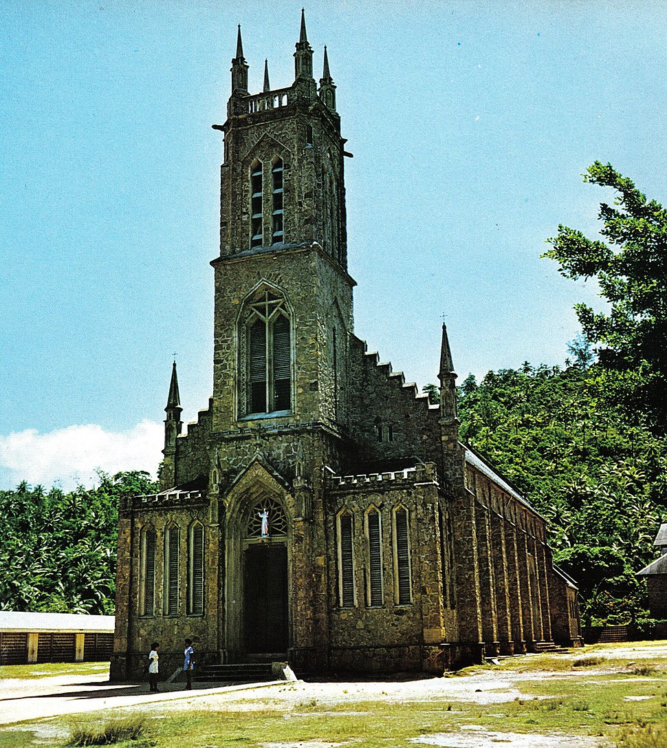 St Francis Church Mahe